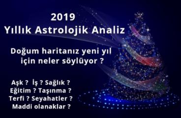 2019 Yıllık Astrolojik Analiz