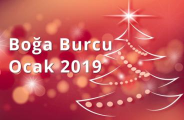 Boğa Burcu Ocak 2019