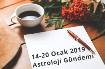 14-20 Ocak 2019 Astroloji Gündemi