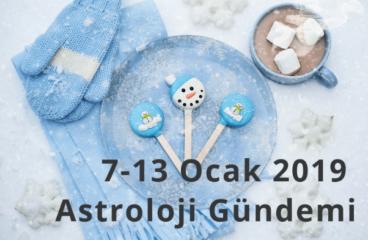 7-13 Ocak 2019 Astroloji Gündemi