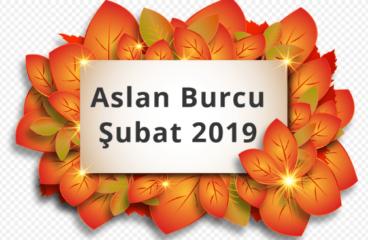 Aslan Burcu Şubat 2019