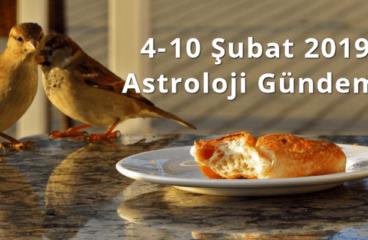 4-10 Şubat 2019 Astroloji Gündemi
