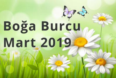 Boğa Burcu Mart 2019 Anlat Burçak