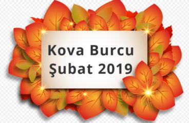 Kova Burcu Şubat 2019