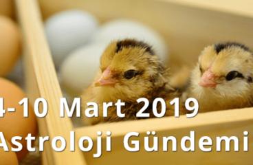 4-10 Mart 2019 Astroloji Gündemi