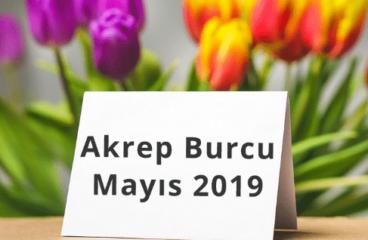 Akrep Burcu Mayıs 2019