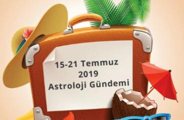 15-21 Temmuz 2019 Astroloji Gündemi