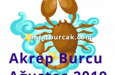Akrep Burcu Ağustos 2019