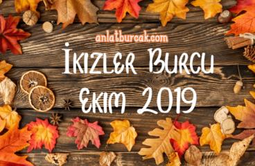 İkizler Burcu Ekim 2019