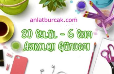 30 Eylül – 6 Ekim 2019 Astroloji Gündemi