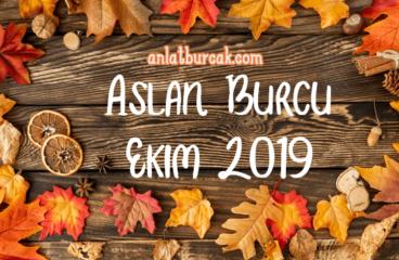 Aslan Burcu Ekim 2019
