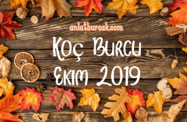 Koç Burcu Ekim 2019