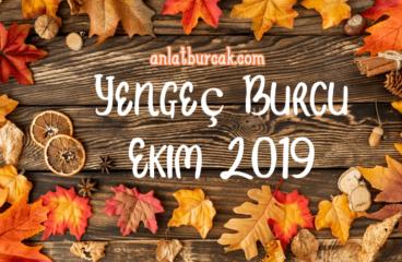 Yengeç Burcu Ekim 2019