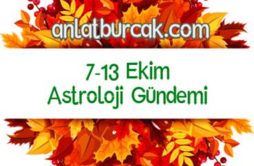 7-13 Ekim 2019 Astroloji Gündemi