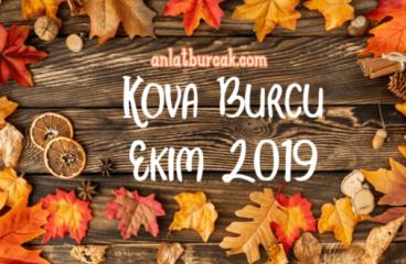 Kova Burcu Ekim 2019