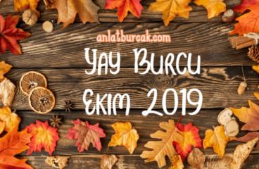 Yay Burcu Ekim 2019