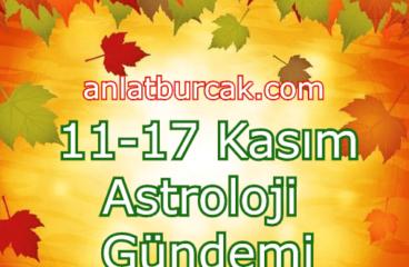 11-17 Kasım 2019 Astroloji Gündemi