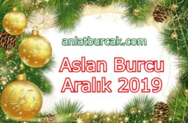 Aslan Burcu Aralık 2019