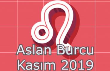 Aslan Burcu Kasım 2019