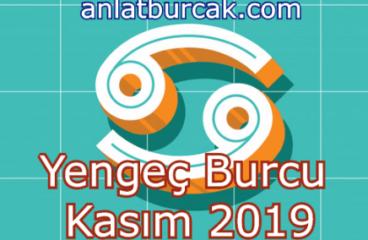 Yengeç Burcu Kasım 2019