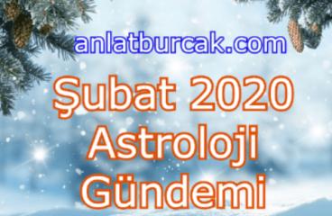 Şubat 2020 Astroloji Gündemi
