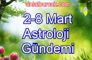 2-8 Mart 2020 Astroloji Gündemi