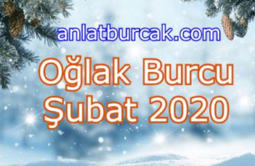 Oğlak Burcu Şubat 2020