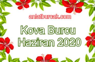 Kova Burcu Haziran 2020