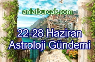 22-28 Haziran 2020 Astroloji Gündemi