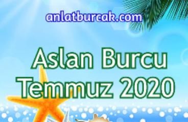 Aslan Burcu Temmuz 2020