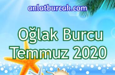 Oğlak Burcu Temmuz 2020
