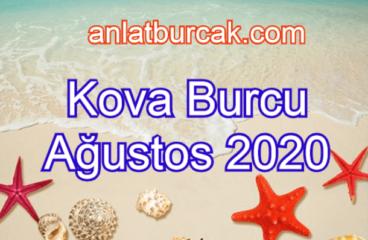 Kova Burcu Ağustos 2020