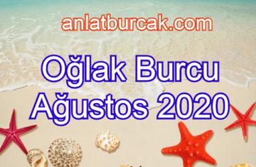 Oğlak Burcu Ağustos 2020