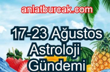 17-23 Ağustos 2020 Astroloji Gündemi