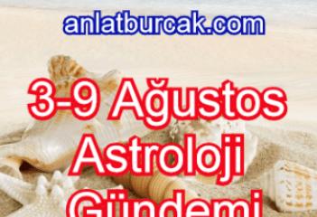 3-9 Ağustos 2020 Astroloji Gündemi