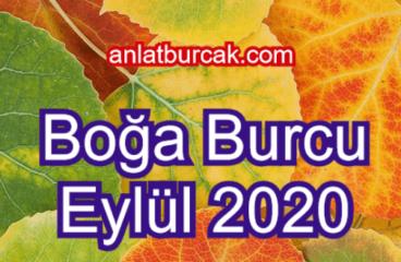 Boğa Burcu Eylül 2020