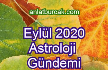 Eylül 2020 Astroloji Gündemi