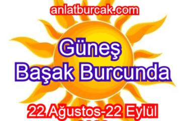 Güneş Başak Burcunda 22 Ağustos-22 Eylül 2020