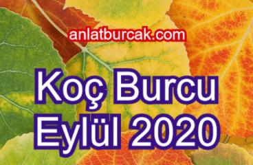 Koç Burcu Eylül 2020