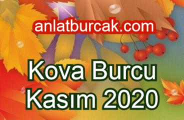 Kova Burcu Kasım 2020