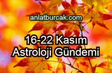 16-22 Kasım 2020 Astroloji Gündemi