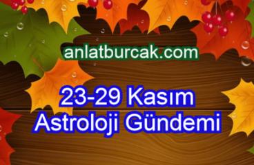23-29 Kasım 2020 Astroloji Gündemi