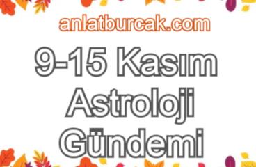 9-15 Kasım 2020 Astroloji Gündemi