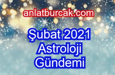Şubat 2021 Astroloji Gündemi