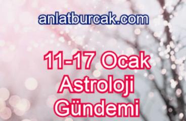11-17 Ocak 2021 Astroloji Gündemi