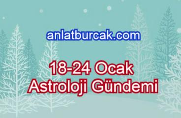 18-24 Ocak 2021 Astroloji Gündemi