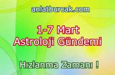 1-7 Mart 2021 Astroloji Gündemi