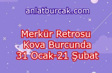 Merkür Retrosu Kova Burcunda 31 Ocak-21 Şubat 2021