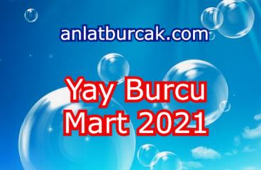 Yay Burcu Mart 2021