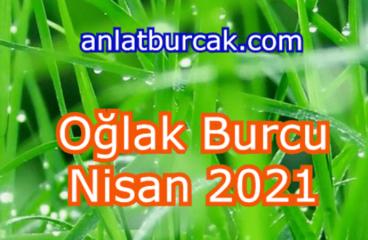 Oğlak Burcu Nisan 2021